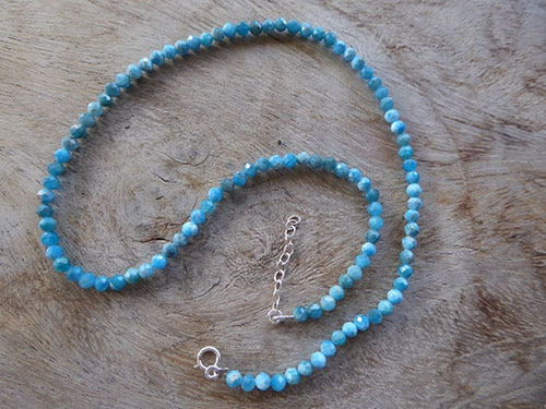 GEMS 008 Apatite Bracelet