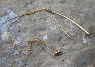 collier collection bijoux plaqué or